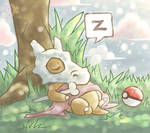ART TRADE: Nap after lunch.