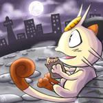 theTHIRD: Meowth. by meriimerodii
