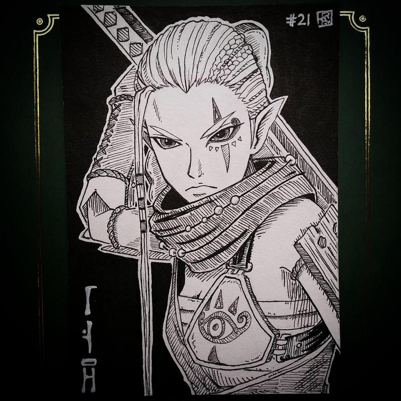 InkTober Day 21 --- General Impa. by meriimerodii