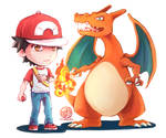 [$] Red and Charizard!