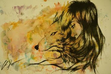 Wolf Metamorphosis by Bro-Pacino