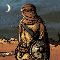 Arabian Warrior Scene by HsnGoneWild