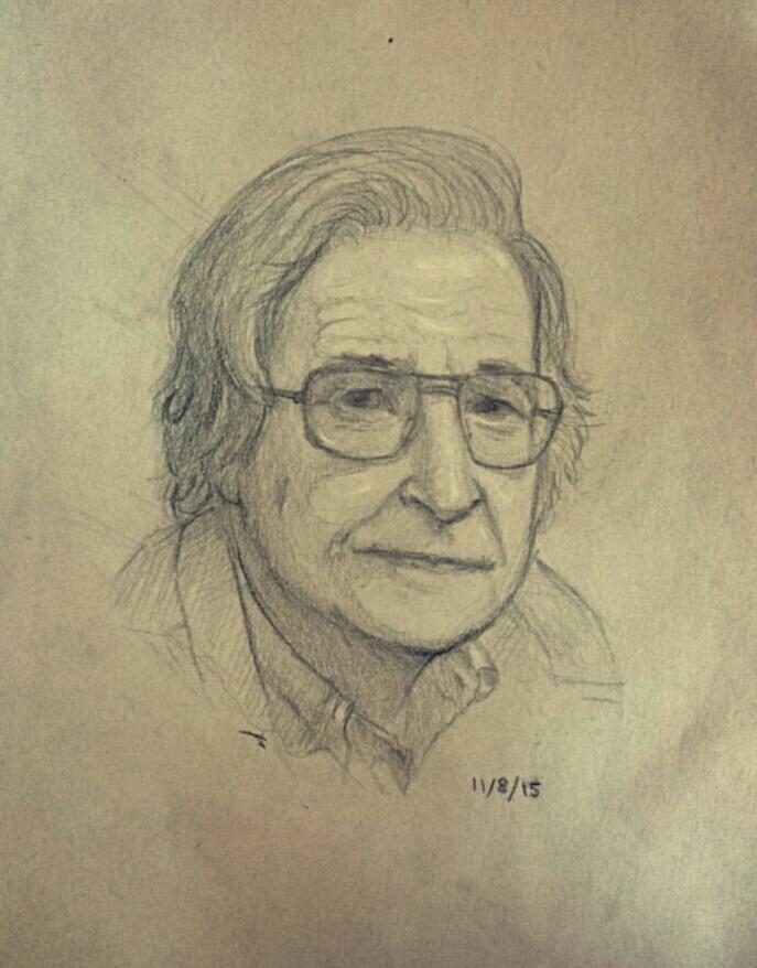 Noam Chomsky by HsnGoneWild