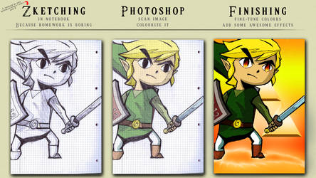 Link Wallpaper Finishing