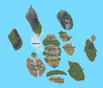 TPPI - The Pawprint Islands Map