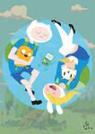 Adventure Time - The Human Team