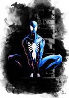 The Symbiote Costume by aquaticpig