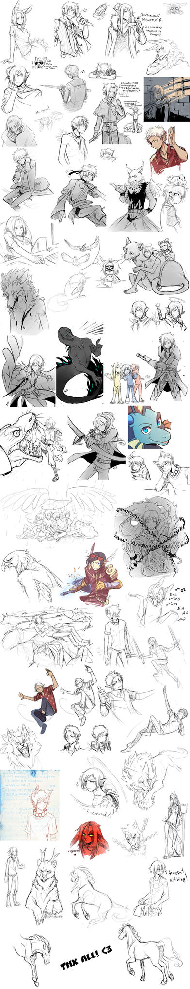 Sketchdump_010 by Nerior