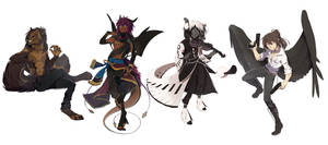 Fullbody Commissions Bunch 03