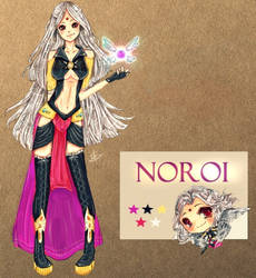 Noroi ~ Character Design by Seriviance