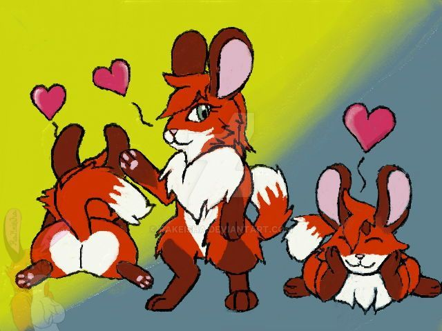 Rai The Fox Chinchilla by Rakeisha