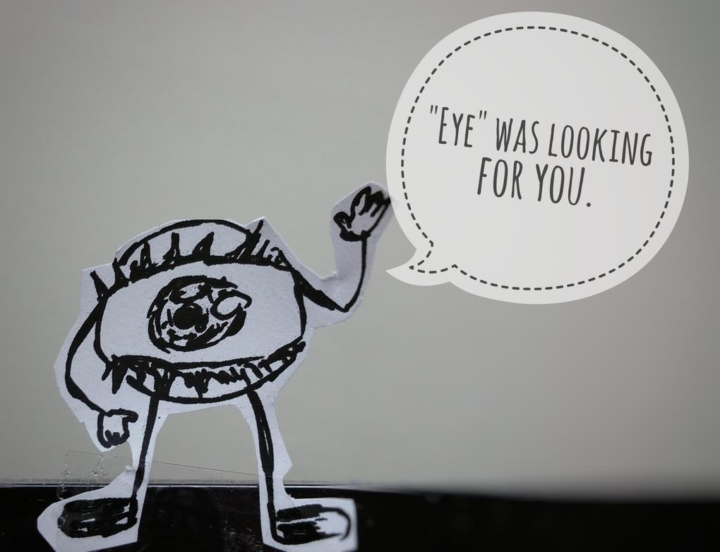 Eye Friend by WarOfMyArt