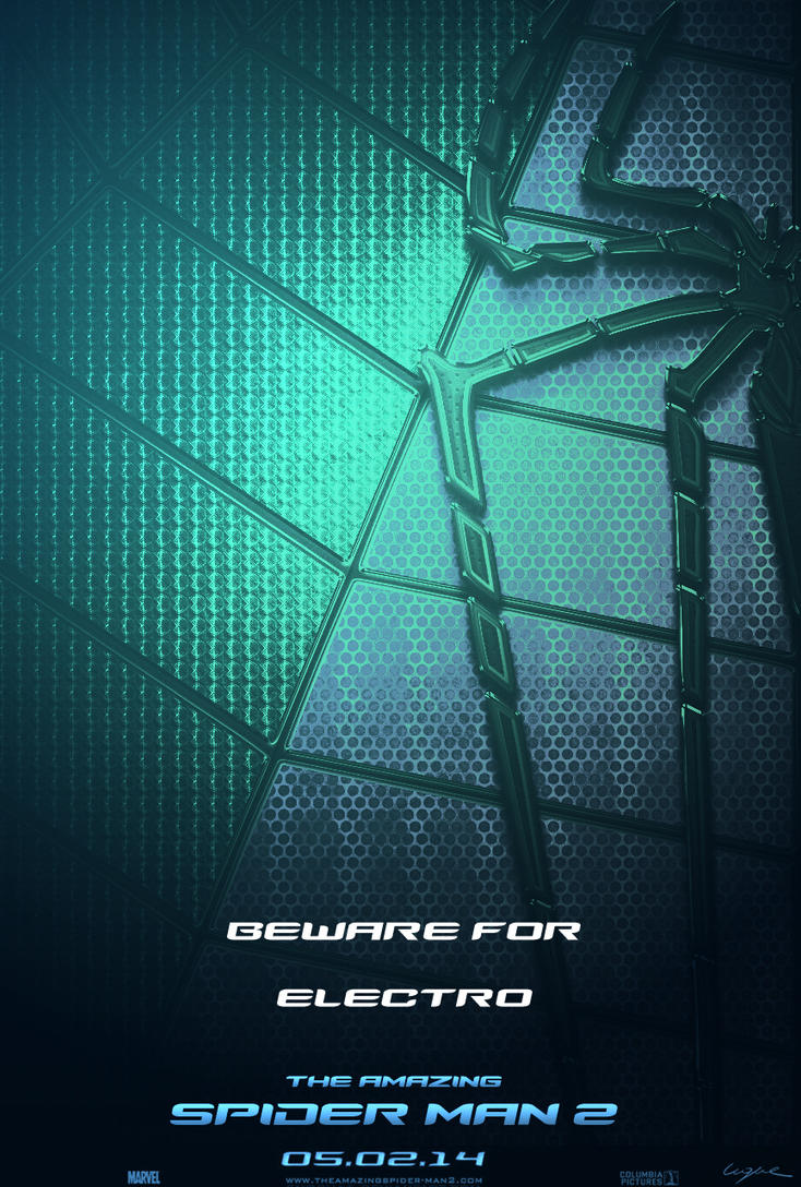 Amazing Spider Man 2 Poster ELECTRO by LuquePL on DeviantArt