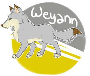 Weyann 2015 Sticker