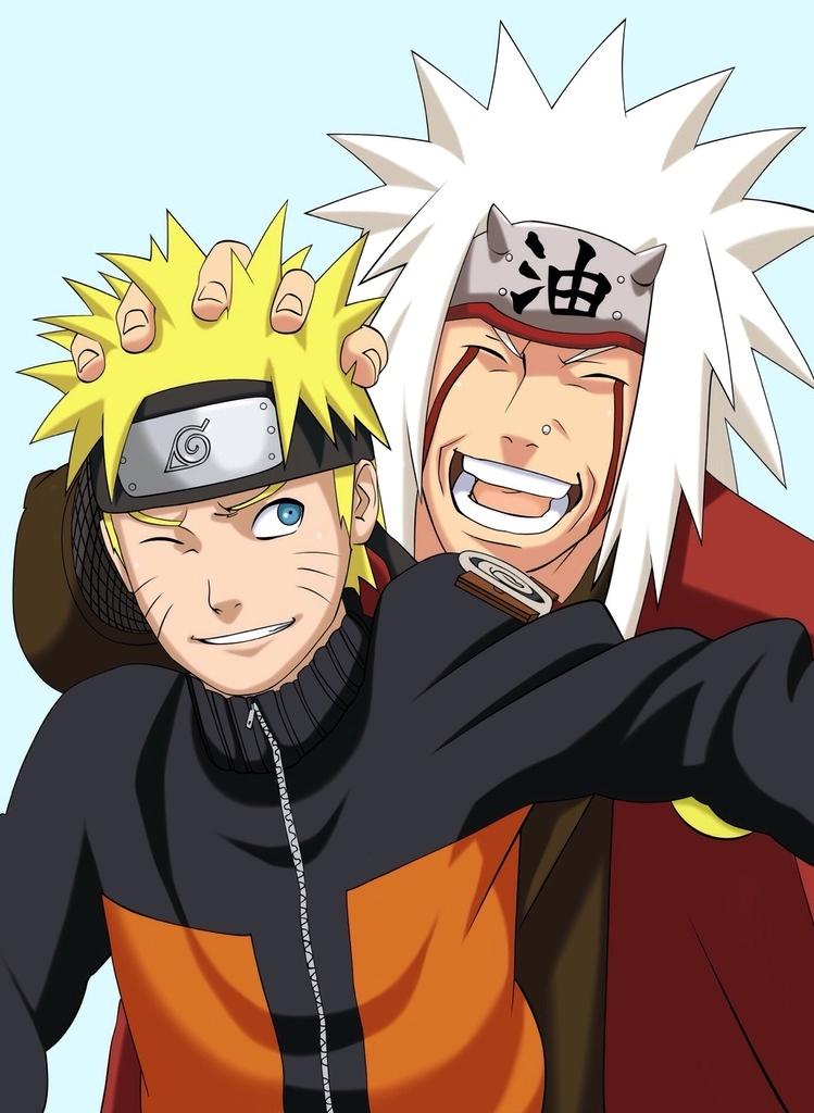 Naruto And Jiraiya By Sophie4391 On Deviantart
