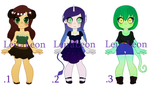Monster Girl Adoptables SALE OPEN by LeiraLeon