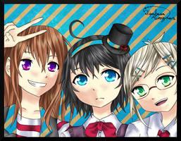 Original::Friends by tsubasakurozawa