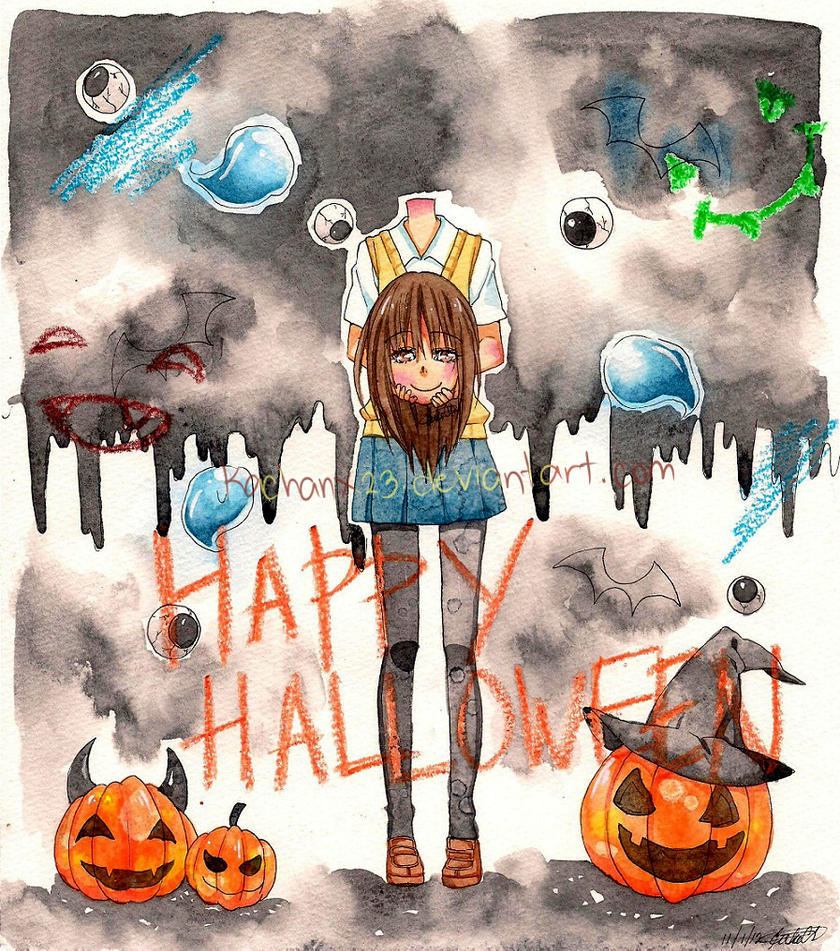 Happy Halloween!! by Kachanx23