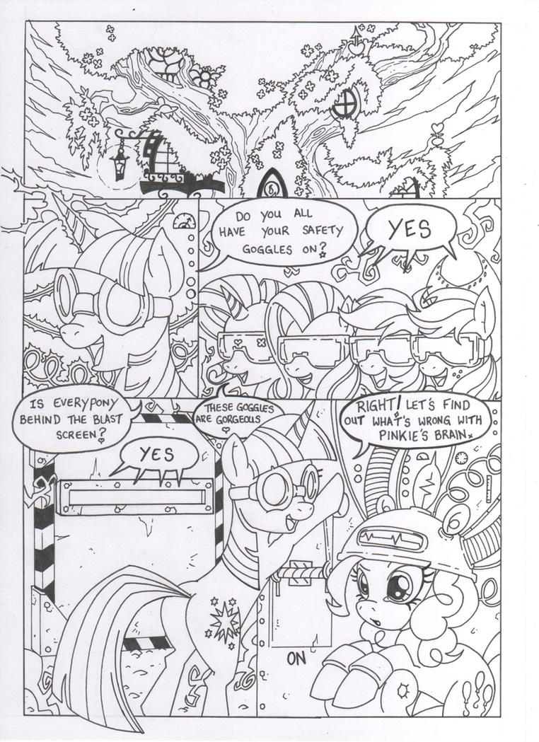 A piece of pie page one by MohawkRex
