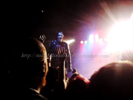 Chris Motionless - Asheville NC by SuicidalxEmbrace