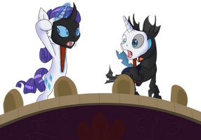 The Beauty and the Changeling by xonxt
