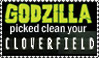 Godzilla cloverfield by Ravenfire5