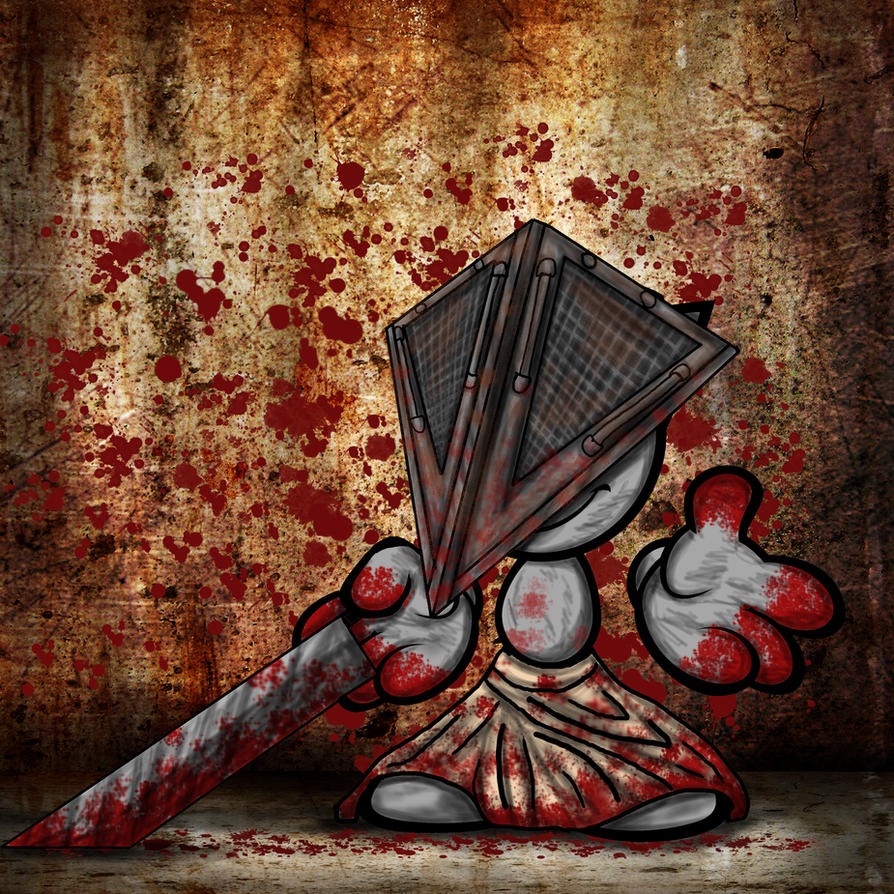 Pyramidhead fella by Ravenfire5