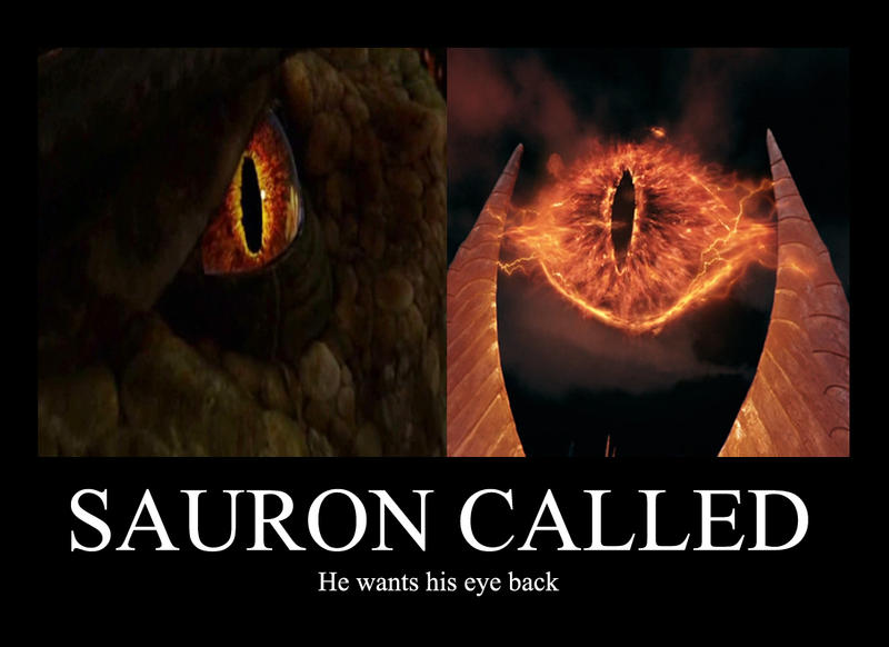 Eye of sauron by Ravenfire5