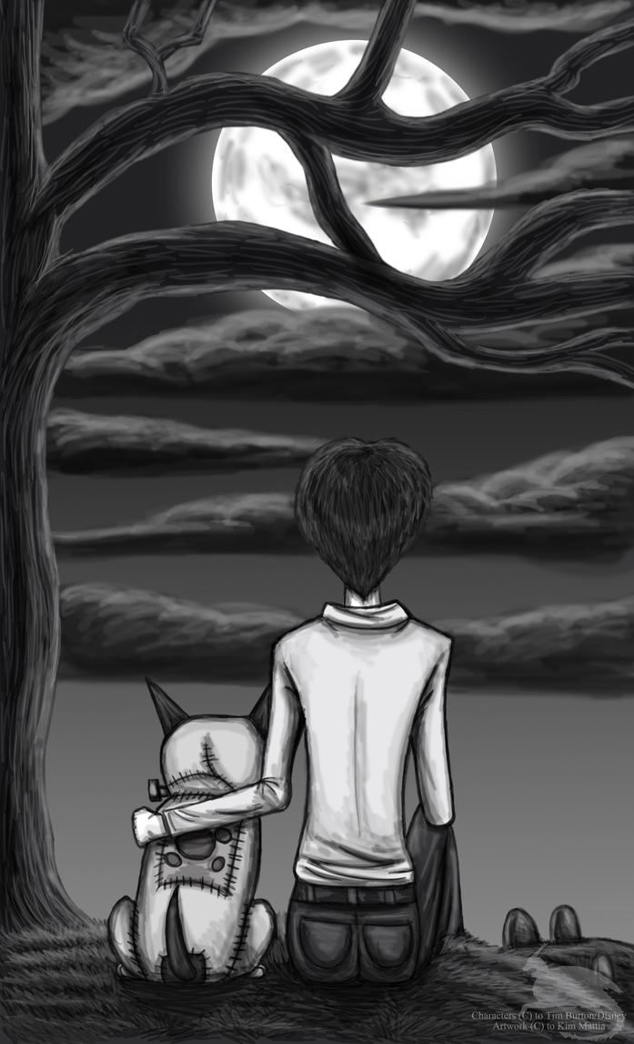 A boy and his dog by Ravenfire5