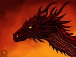 Lave fire dragon