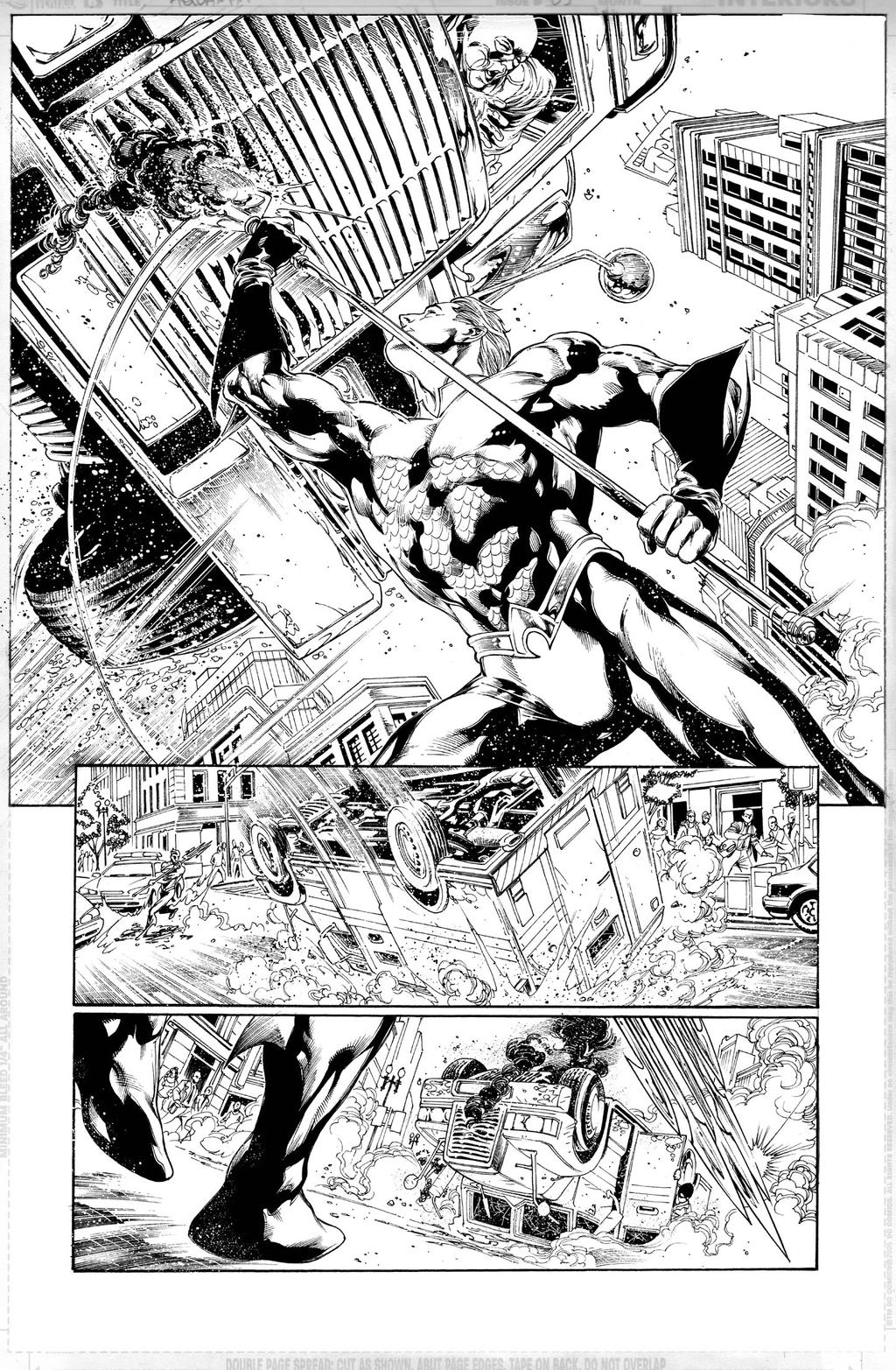 AQUAMAN Issue 01 Page 06 by JoePrado2010