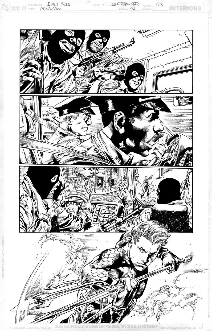 AQUAMAN Issue 01 Page 05 by JoePrado2010