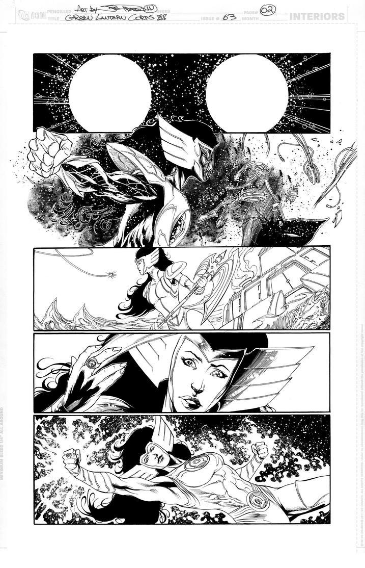 Green Lantern Corps 63 Page 02 by JoePrado2010
