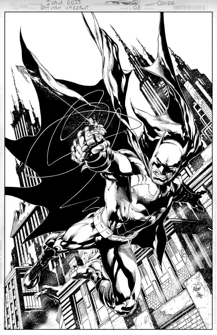 BATMAN Issue 3 COVER by JoePrado2010