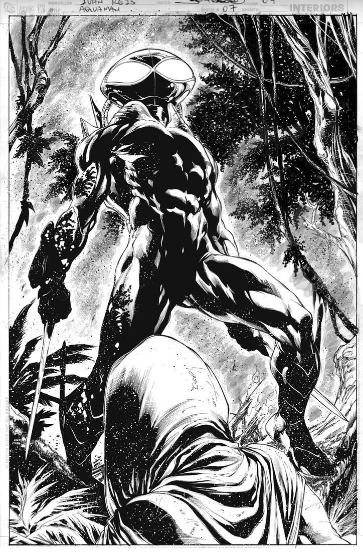 AQUAMAN Issue 07 Page 04 by JoePrado2010