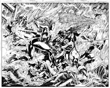 JUSTICE LEAGUE Issue 08 Pages 18 n 19