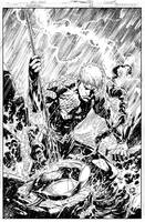 Aquaman Issue 11 COVER by JoePrado2010