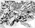 Aquaman Issue 08 Pages 12 and 13