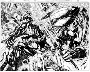 AQUAMAN Issue 10 Pages 10 n 11 by JoePrado2010