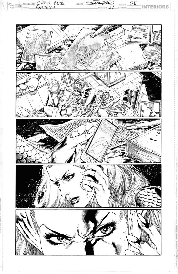 AQUAMAN Issue 12 Page 01 by JoePrado2010