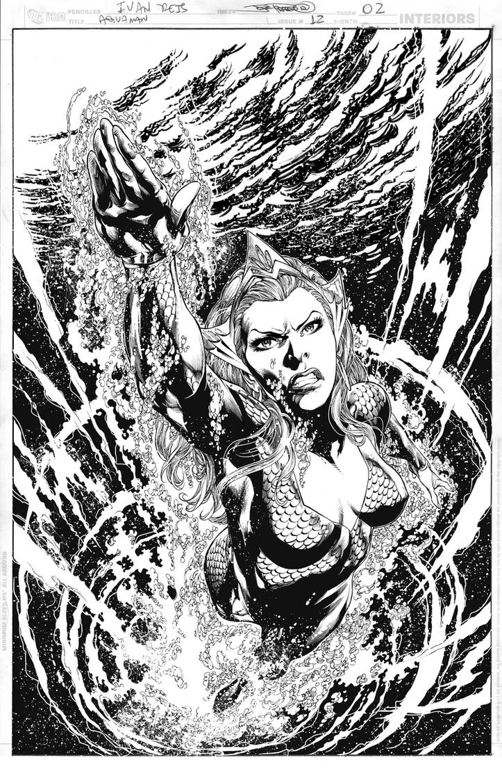 AQUAMAN Issue 12 Page 02 by JoePrado2010