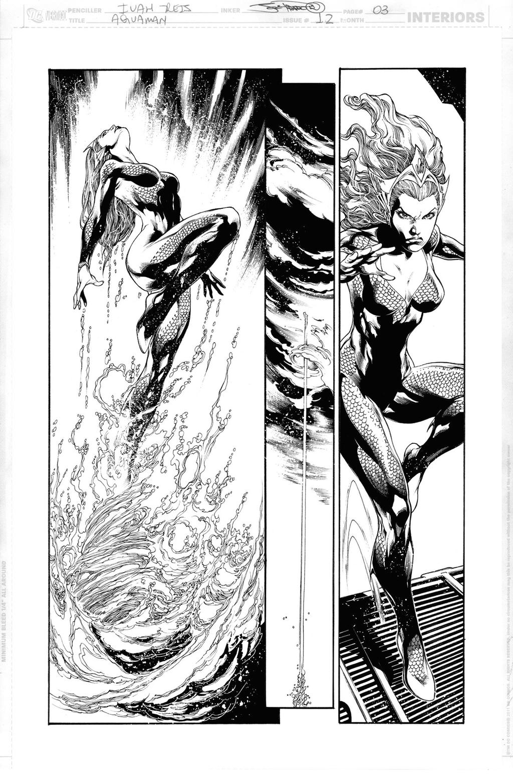AQUAMAN Issue 12 Page 03 by JoePrado2010