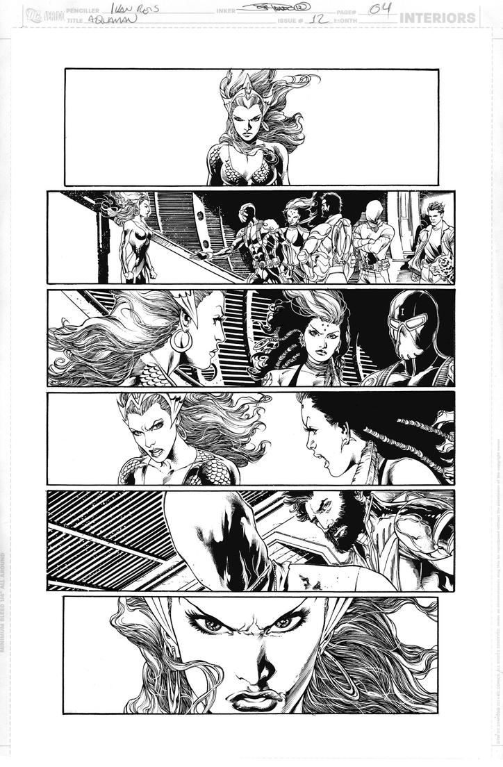 AQUAMAN Issue 12 Page 04 by JoePrado2010
