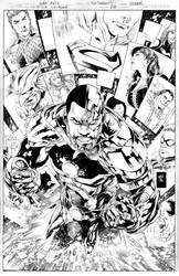 JUSTICE LEAGUE Issue 18 COVER