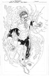 GREEN LANTERN COMMISSION