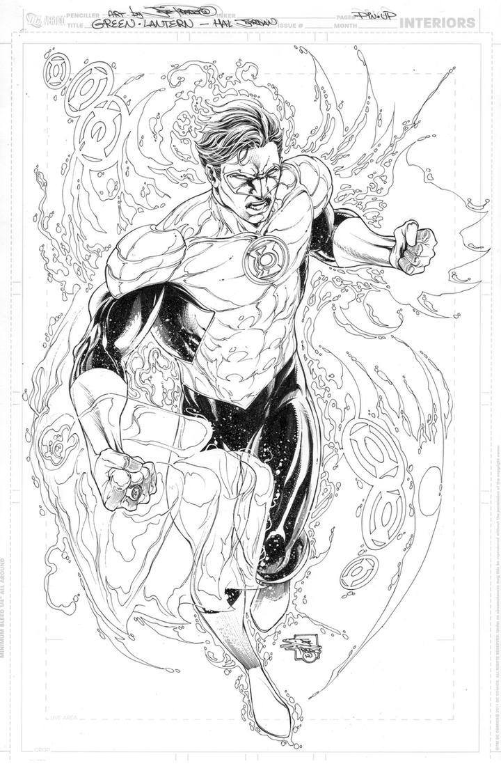 GREEN LANTERN COMMISSION by JoePrado2010