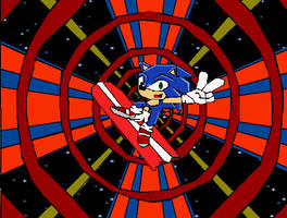 Sonic Advance Special Stage by Dr-Spudhead