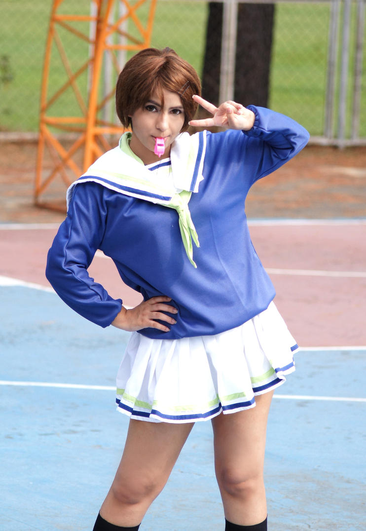 Riko Aida Cosplay 6 - Kuroko no Basket - can do! by siary