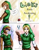 Link's Rude Awakening by GawainesAngel