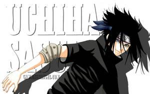 Uchiha Sasuke by GawainesAngel